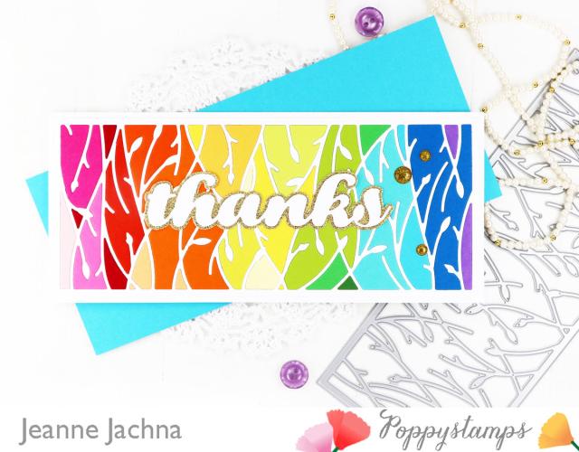 Leafy Vines-Poppystamps-Jeanne Jachna