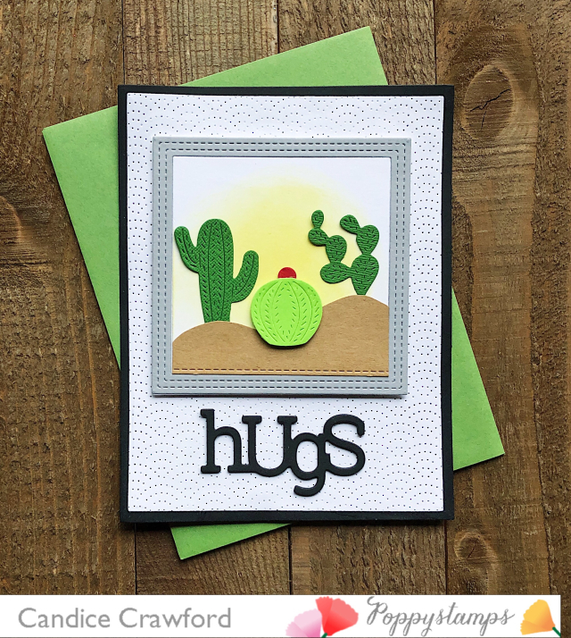 2407 Playful Hugs craft die