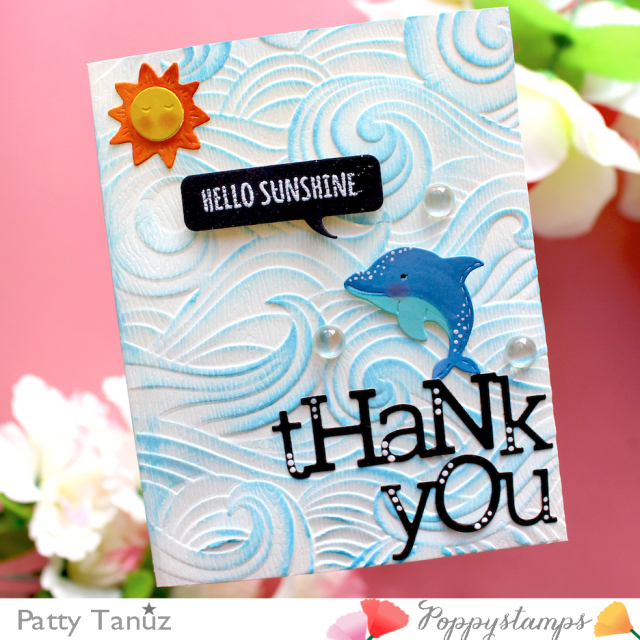 CL501 Whittle Sealife Sentiments clear stamp set