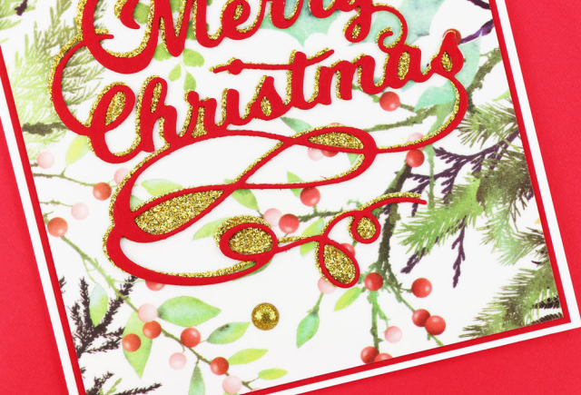 Merry Christmas Script-Poppystamps-Jeanne Jachna-CU2