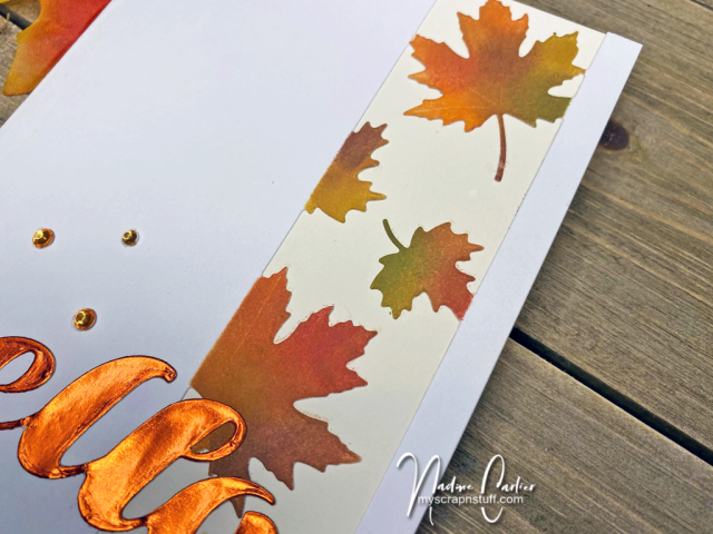 Hello Autumn Card by Nadine Carlier 1