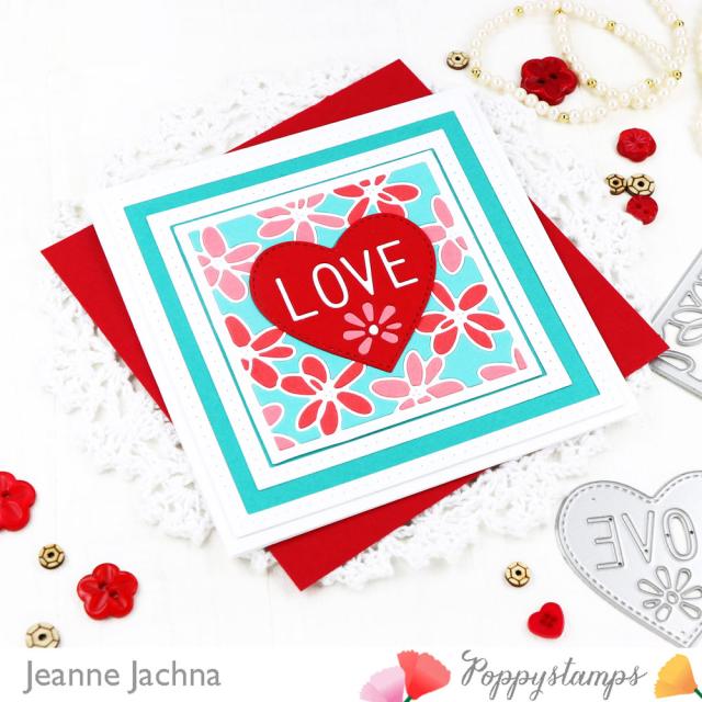 Scribble Daisy Heart-Poppystamps-Jeanne Jachna-Angle