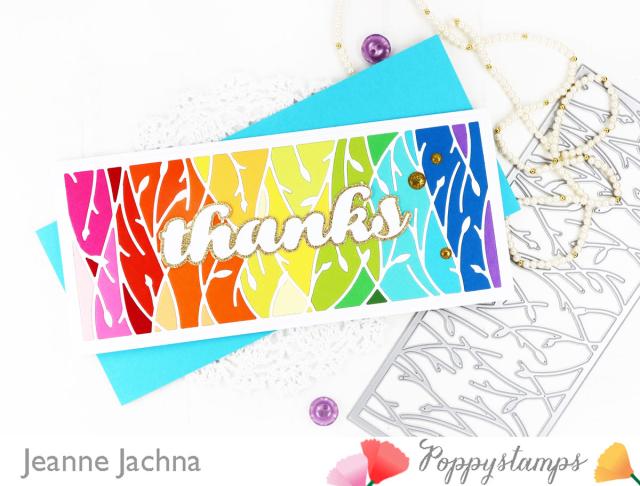 Leafy Vines-Poppystamps-Jeanne Jachna-Side