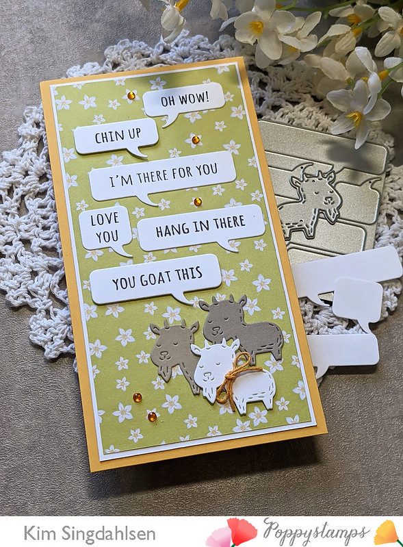 CL500 Whittle Wild Animal Sentiments clear stamp set