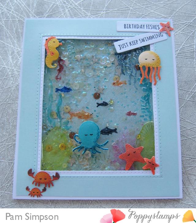 2415 Whittle Happy Octopus craft die