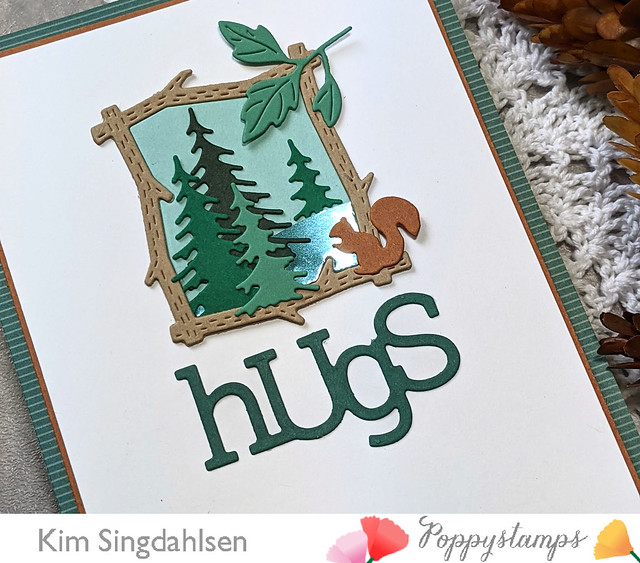 2407 Playful Hugs craft die