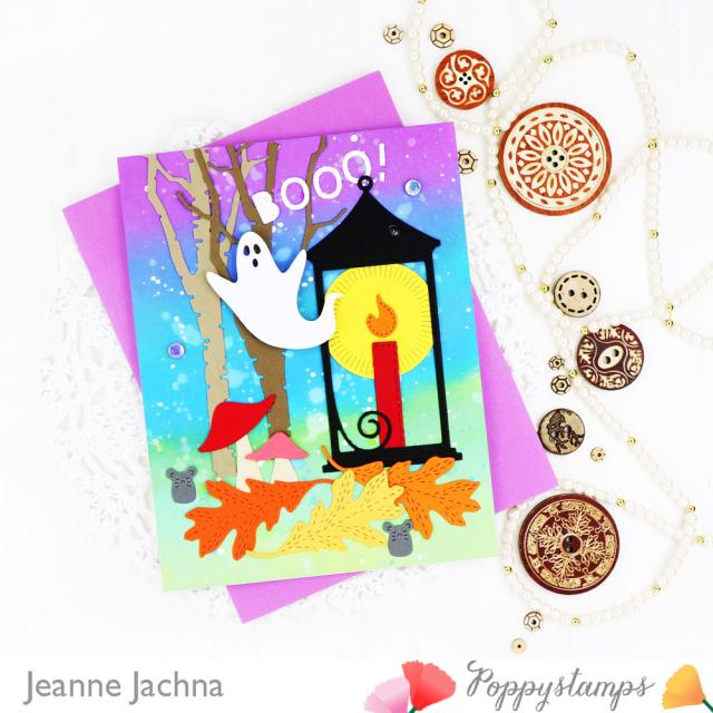 Halloween Lantern-Poppystamps-Jeanne Jachna-Side